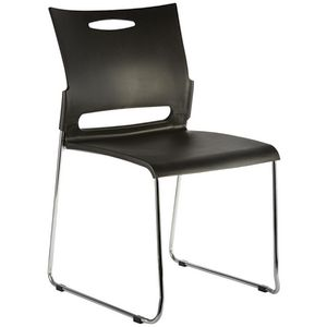 Eastwood Visitor Chair Black