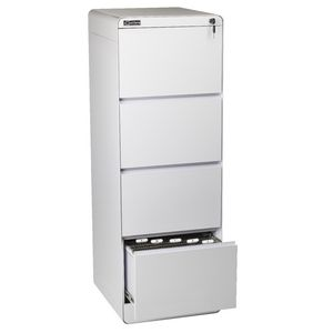 ... Excalibre 4 Drawer Filing Cabinet White