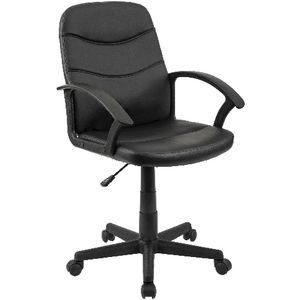 Finchley Medium Back Chair Black