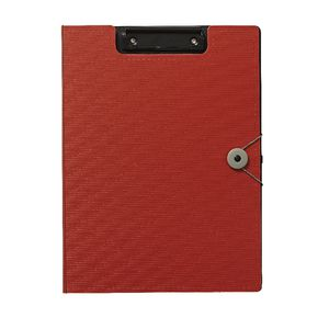 J.Burrows Foam Clipfolder A4 Red
