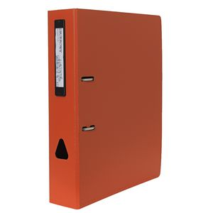 J.Burrows Foam Lever Arch File A4 2 Ring Orange