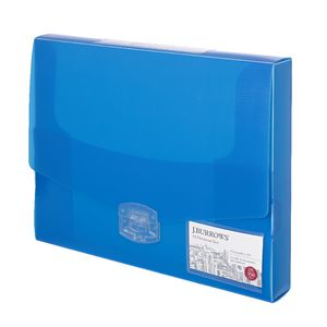 J.Burrows Ice Document Box 40mm Blue
