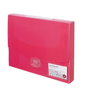 J.Burrows Ice Document Box 40mm Pink