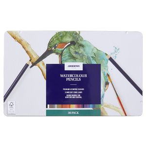J.Burrows Watercolour Pencils 36 Pack
