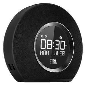 JBL Bluetooth Clock Radio Black