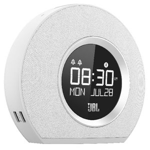 JBL Bluetooth Clock Radio White