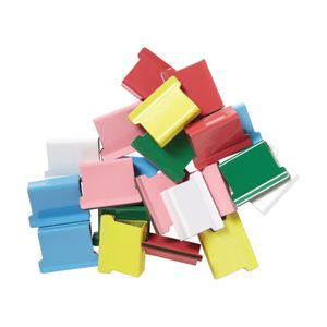 J.Burrows Slide Clips Refills Large Assorted 40 Pack