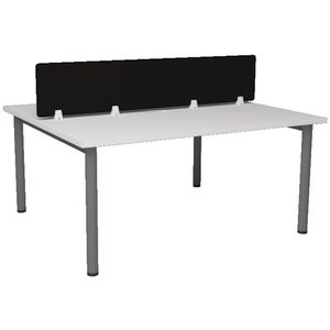 Matrix 2 Person Desk White