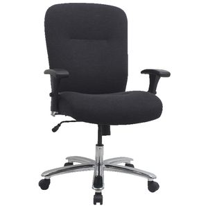 Matrix Big and Tall Fabric Chair Dark Grey