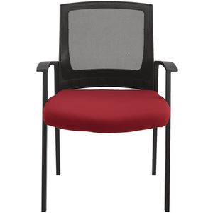 Matrix Mesh Visitor Chair Red