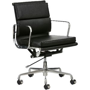 Matrix Executive Medium Back Chair Black
