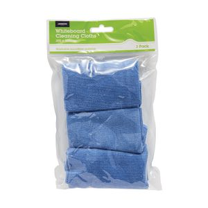 J.Burrows Washable Microfibre Flannel 3 Pack