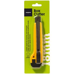J.Burrows Box Cutter Heavy Duty 18mm