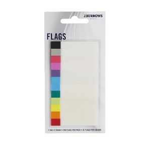 J.Burrows Flags 7.5 x 50mm 12 Pack
