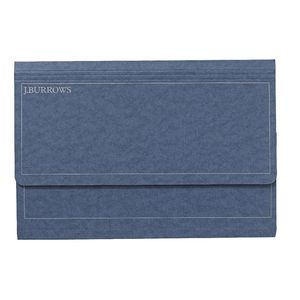 J.Burrows Foolscap Document Wallet Navy