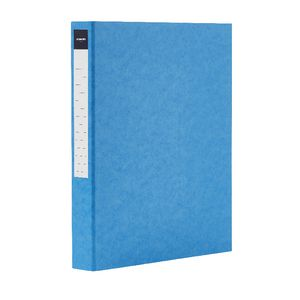 J.Burrows Pressboard Binder A4 2-D Ring 25mm Blue