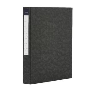 J.Burrows Pressboard Binder A4 2-D Ring 25mm Black