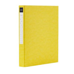 J.Burrows Pressboard Binder A4 2-D Ring 25mm Yellow