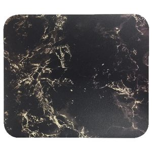 J.Burrows Patterned Mouse Pad Black Marble