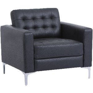 Preston 1 Seat Lounge Black