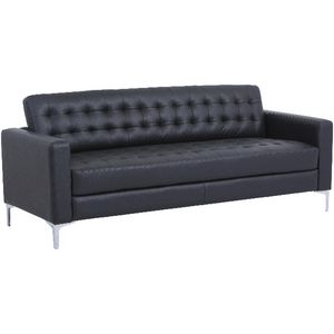 Preston 3 Seat Lounge Black
