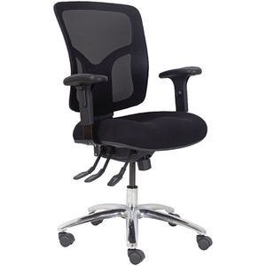 Professional Ergonomic Extra Heavy Duty Chair Black