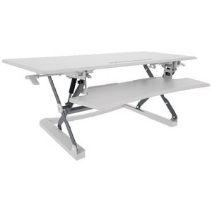 Professional Sit Stand Desk 1190mm White