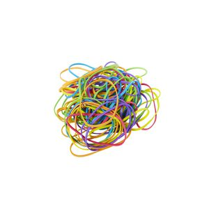 J.Burrows No.34 Rubber Bands 100g Assorted