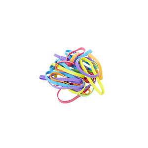 J.Burrows No.64 Rubber Bands 100g Assorted