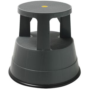 J.Burrows Rolling Kick Stool 150kg Capacity
