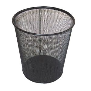 J.Burrows 18L Mesh Bin Black