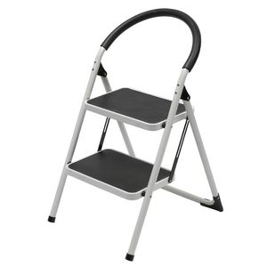 J Burrows 2 Step Ladder 150kg White