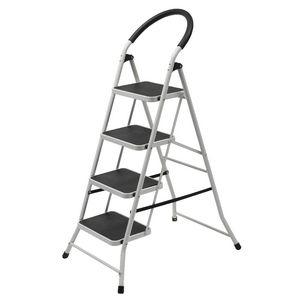 J Burrows 4 Step Ladder 150kg White  sc 1 st  Officeworks & Trolleys Steps u0026 Ladders | Officeworks islam-shia.org