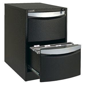 stilford 2 drawer filing cabinet black