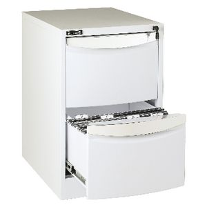 ... Stilford 2 Drawer Filing Cabinet White