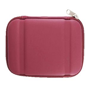 J.Burrows Portable Hard Drive Hard Case Red