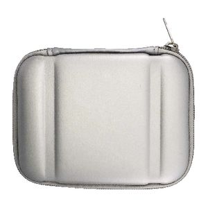 J.Burrows Portable Hard Drive Hard Case Silver