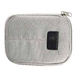 J.Burrows Portable Hard Drive Soft Case Silver