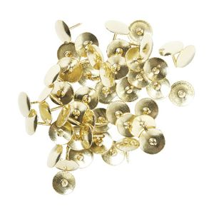 J.Burrows Thumb Tacks Gold 150 Pack