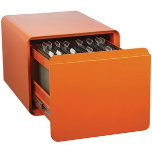 Venturo 1 Drawer Filing Pedestal Orange