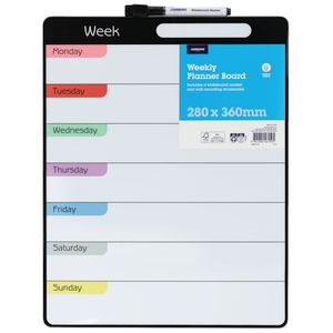 J.Burrows Weekly Planner Board 280 x 360mm