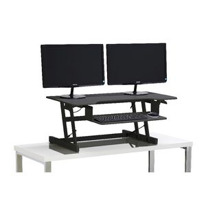 Wynston Sit Stand Desk Large Black