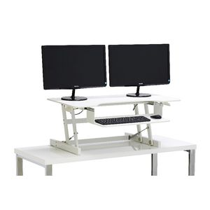 Wynston Sit Stand Desk Large White
