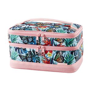 Otto Jumbo Cold Box Lunch Bag Tropical Butterfly