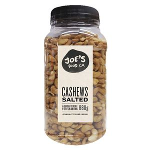J.C.'s Quality Foods Salted Cashews 880g