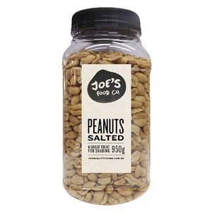 J.C.'s Quality Foods Salted Peanuts 950g