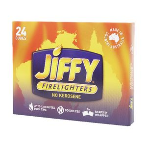 Jiffy Cube Firelighters 24 Pack