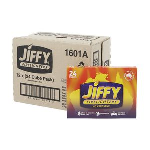 Jiffy Cube Firelighters 12 x 24 Pack