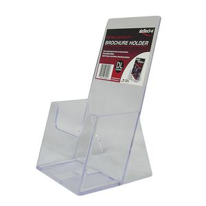 deflect-O Extra Capacity DL Portrait Brochure Holder