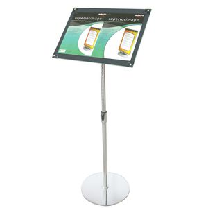 deflect-O A3 Magnetic Foyer Stand Black